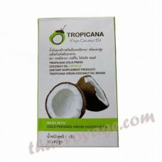 Coconut oil capsules Tropicana - TV000030