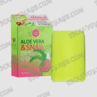 Snail soap with aloe Vera Cathy Doll Aloe Vera & Snail - TV000116