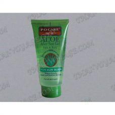 Aloe gel après-soleil pour le visage et le corps Po Care - TV000160