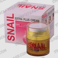 Face cream with snail filtrate Snail Extra Plus - TV000189