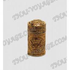 Kupfer Naseninhalator mit der Sammlung von Heilkräutern - TV000231