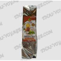 Il tè verde con il profumo di noce di cocco - TV000255