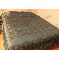 Накидка на кровать из тайского шелка - TV000292