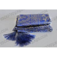 Cape blue silk - TV000293