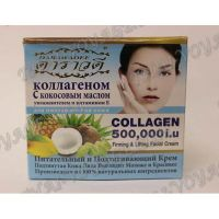 Firming nourishing face cream with coconut oil and collagen Darawadee - TV000347