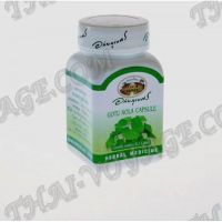 Capsule Gotu Kola Abhaibhubejhr for memory and varicose veins - TV000355