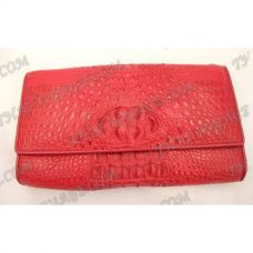 Clutch female crocodile leather - TV000362