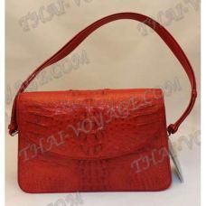 السيدات حقيبة جلد التمساح - TV000365