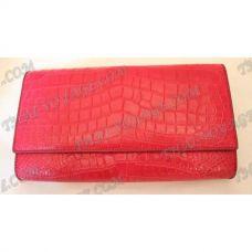 Frizione femminile pelle di coccodrillo - TV000370