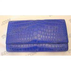 Embrayage peau de crocodile femelle - TV000371