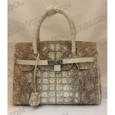 Bag Damen Leder Krokodil - TV000374