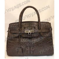 Bag Damen Leder Krokodil - TV000376