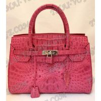 Sac dames de crocodile en cuir - TV000378
