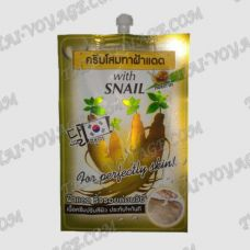 Face cream with ginseng and snail slime Fuji - TV000384