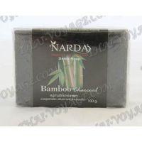 天然竹黒い石鹸 - TV000405