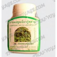 Capsules Jiao Gu Lan Thanyaporn elimination of toxins and rejuvenation - TV000414