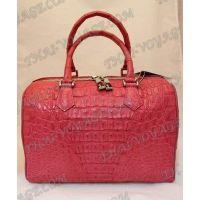 Bag ladies leather crocodile «Keg» - TV000425