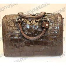 """السيدات حقيبة جلد التمساح """"كيج"""" - TV000426"""
