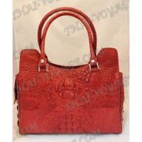 Bag Damen Leder Krokodil - TV000431