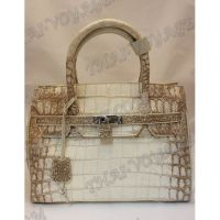 Bag Damen Leder Krokodil - TV000440