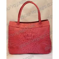 Bag Damen Leder Krokodil - TV000443