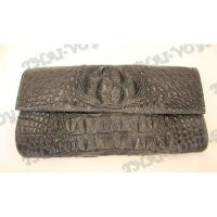 Clutch female crocodile leather - TV000446