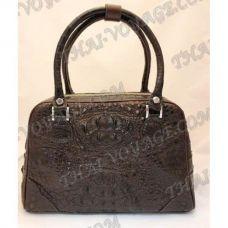 Bag Damen Leder Krokodil - TV000450