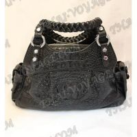 Bag Damen Leder Krokodil - TV000454