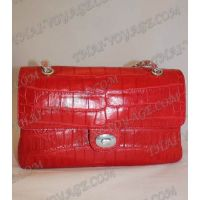Sac dames de crocodile en cuir - TV000458