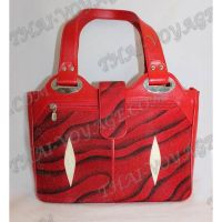 Bag female stingray leather - TV000472