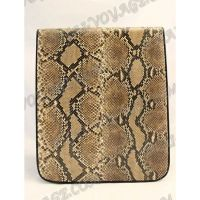 Flatbed male python leather - TV000484