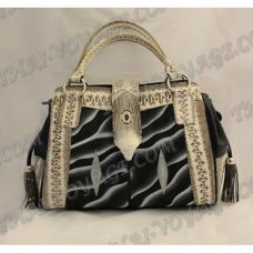 Bag female from leather stingray and cobra - TV000489