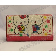 Clutch female stingray leather «Pussycat» - TV000491