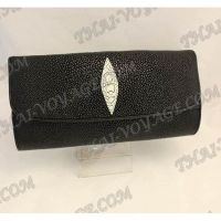 Clutch female stingray leather - TV000493