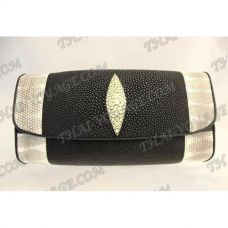 Clutch female stingray leather and sea snake - TV000494