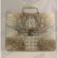 Briefcase male crocodile leather - TV000496