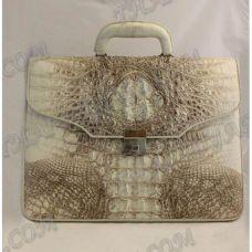 Briefcase male crocodile leather - TV000496