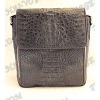 الرجال حقيبة جلد التمساح - TV000506