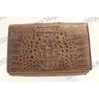 Purse-clutch female crocodile leather - TV000508