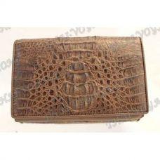 Purse-clutch female crocodile leather - TV000508