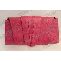 Frizione femminile pelle di coccodrillo - TV000509