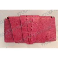 Clutch female crocodile leather - TV000509