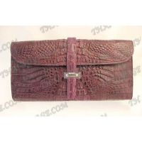 Clutch female crocodile leather - TV000511