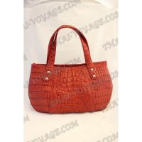 Bag Damen Leder Krokodil - TV000514