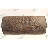 Clutch weibliche Krokodilhaut - TV000518