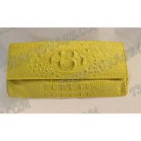 Clutch weibliche Krokodilhaut - TV000519