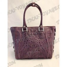 Sac dames de crocodile en cuir - TV000522