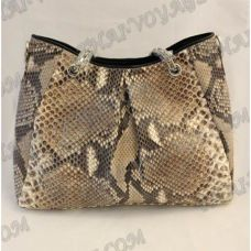 Bag female from leather python - TV000527