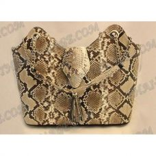 Bag female from leather python - TV000528