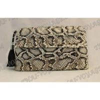 Clutch Frauen Leder Schlange - TV000529